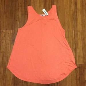NWT Old Navy Coral Swing Tank Top